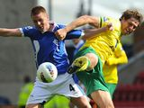 James McCarthy and Grant Holt