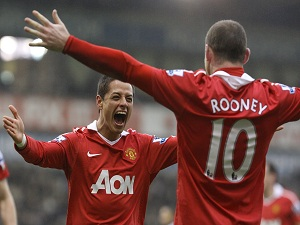 Wayne Rooney, Javier Hernandez