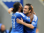 Frank Lampard and Didier Drogba