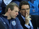 Stuart Pearce and Fabio Capello