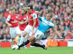 Yossi Benayoun and Lee Cattermole