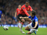 Leighton Baines and Antonio Valencia