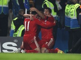Maxi Rodriguez and Luis Suarez