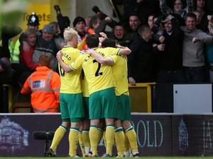 Norwich players