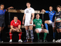 2012 Six Nations Captains