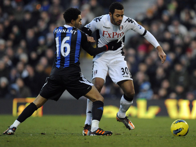 Moussa Dembele and Jermaine Pennant