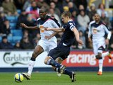 Fabrice Muamba and Paul Robinson