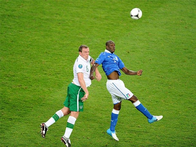 Mario Balotelli, Richard Dunne
