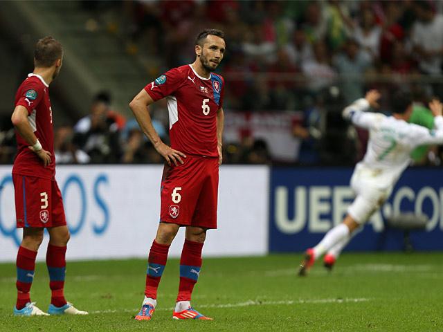 Tomas Sivok, Michal Kadlec, Cristiano Ronaldo