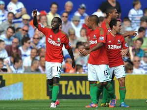 Swansea City's Nathan Dyer on August 18, 2012