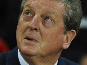 Roy Hodgson watches on