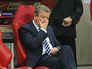 Roy Hodgson looking pensive