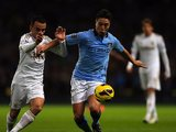 Leon Britton and Samir Nasri