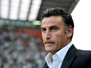 Saint-Etienne coach Christophe Galtier in 2011