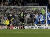 Craig Mackail-Smith scores a penalty for Brighton