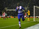 Jason Roberts celebrates scoring the first for Reading