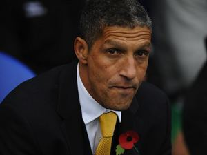 Proud poppy-wearer Chris Hughton