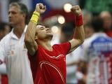 David Ferrer beats Radek Stepanek at the Davis Cup on November 16, 2012