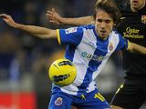 Joan Verdu for Espanyol in January 2012