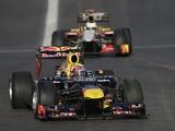 Mark Webber steers a corner in Austin, Texas on November 17, 2012