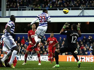 Junior Hoilett scores for QPR on November 17, 2012