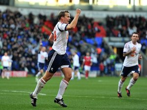 Kevin Davies scores for Bolton on November 17, 2012