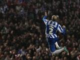 Brighton's Bruno celebrates his opener against Bolton on November 24, 2012
