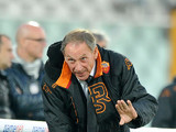 Roma coach Zdenek Zeman during the match against Pescara on November 25, 2012
