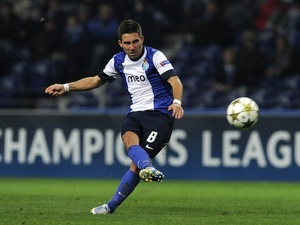 Joao Moutinho scores for FC Porto on November 21, 2012