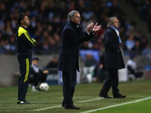 Real Madrid manager Jose Mourinho on November 21, 2012