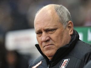 Fulham boss Martin Jol before the game with Stoke on November 24, 2012
