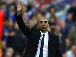 Roberto Di Matteo waves in April 2012