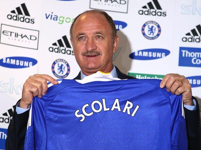 Luiz Felipe Scolari Chelsea Luiz Felipe Scolari as Chelsea