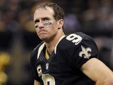 New Orleans Saints quarterback Drew Brees on November 25, 2012