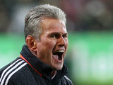 Bayern Munich head coach Jupp Heynckes during the match against Freiburg on November 28, 2012