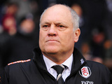 Fulham manager Martin Jol during the match against Tottenham on December 1, 2012