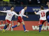 Milan Badelj scores Hamburg's third on November 27, 2012
