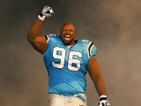 Carolina Panthers' Ron Edwards on September 20, 2012
