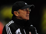 Stoke City manager Tony Pulis during the match against Newcastle on November 28, 2012