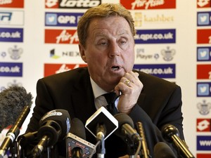 Harry Redknapp meets the media on November 26, 2012