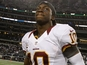 Washington Redskins' Robert Griffin III on November 22, 2012