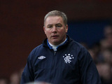 Rangers manager Ally McCoist on the touchline on December 8, 2012