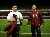 England coaches Andy Farrell and Graham Rowntree on February 4, 2012