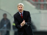 Arsenal boss Arsene Wenger on the touchline in Greece on December 4, 2012