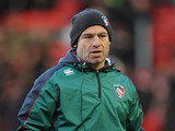 Leicester Tigers head coach Richard Cockerill during the match against Benetton Treviso on December 9, 2012