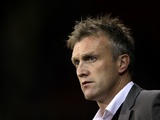 Crewe Alexandra boss Steve Davis on November 20, 2012