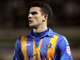 Shrewsbury Town's Terry Gornell on February 21, 2012