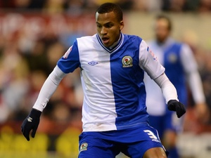 Blackburn Rovers defender Martin Olsson on October 3, 2012