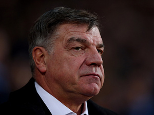West Ham manager Sam Allardyce on the touchline on December 9, 2012