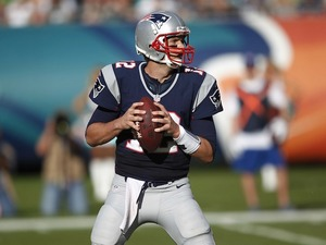 New England Patriots quarterback Tom Brady on December 2, 2012